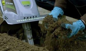 Cultivadora eléctrica