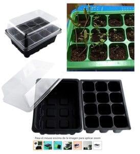 bandejas para sembrar