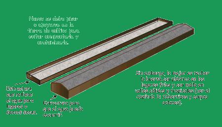 cama de cultivo con techo